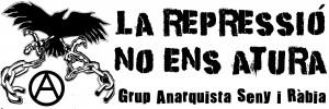 """Campanya: """"La repressió no ens atura!"""""""