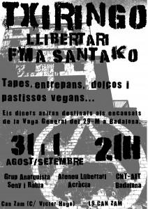 """Activitats: """"Txiringo Llibertari a la FMA de Santako"""""""